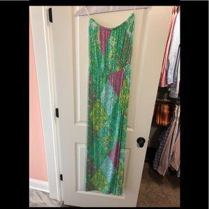 Lilly Pulitzer women's sz sm maxi dress never worn